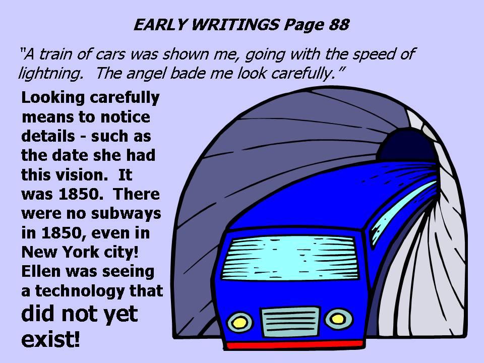 Ellen White's Speeding Train Dream of 1850